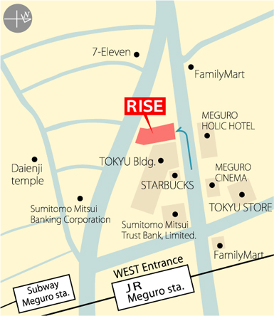 RISE map